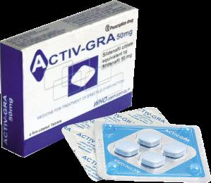ACTIV – GRA thuốc điều trị rối loạn cương, bất lực ở nam giới